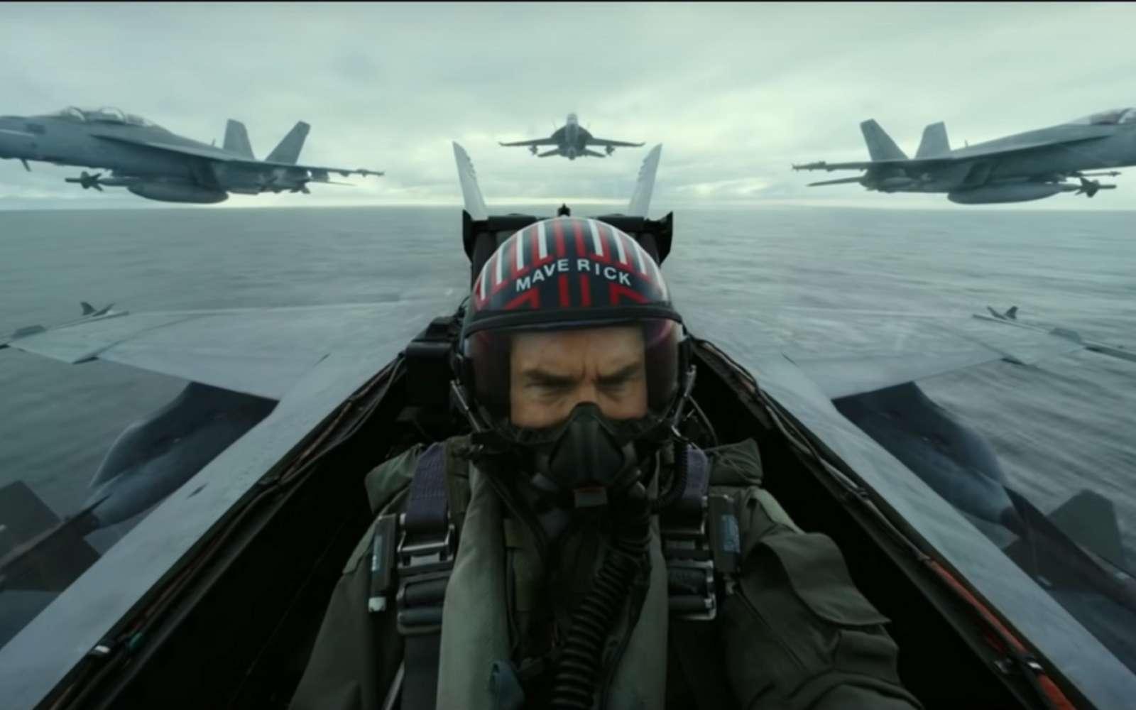 Pour le tournage de Top Gun 2, les pilotes des F-18 ont effectué des vols dans des configurations bien plus serrées qu'ils ne le font en conditions réelles. © Paramount Pictures