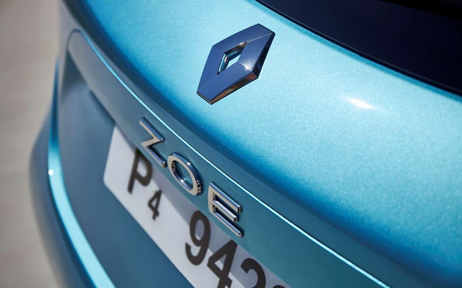 La Renault Zoe reste la voiture électrique préférée des Français. © Renault