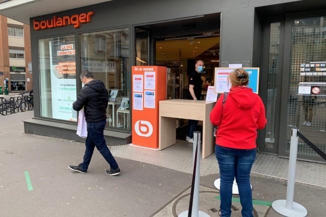 150 magasins Boulanger devraient proposer du retrait en drive d