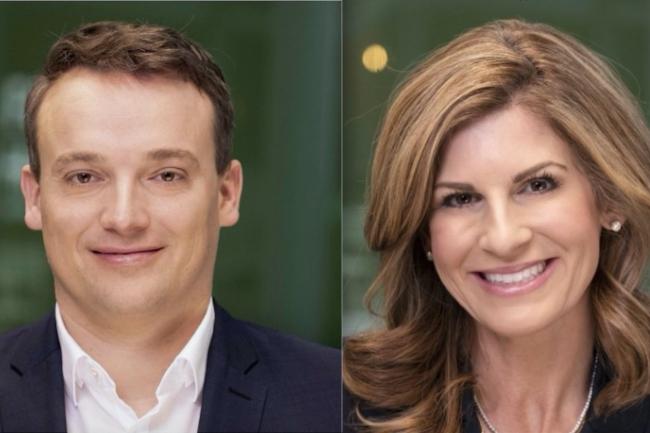 Christian Klein et Jennifer Morgan n