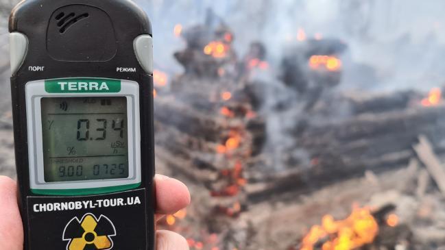 Los incendios forestales de Chernobyl ven los niveles de radiación dispararse