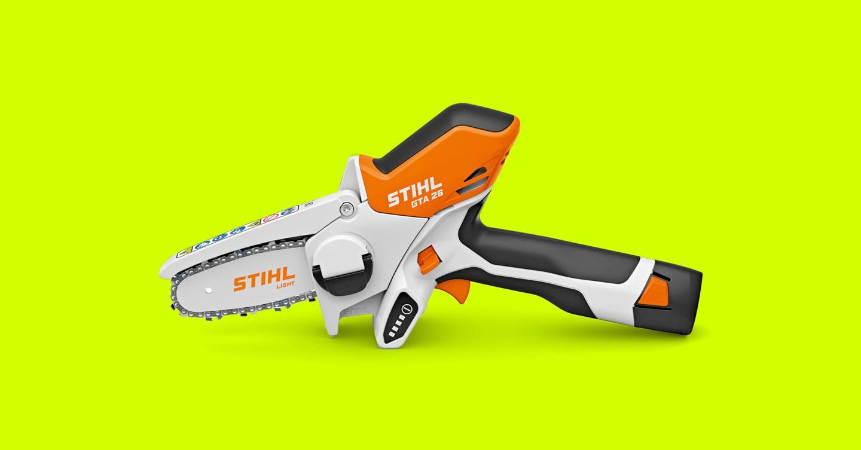 Stihl GTA 26: esta motosierra para bebés es la herramienta de jardinería que su vida necesita