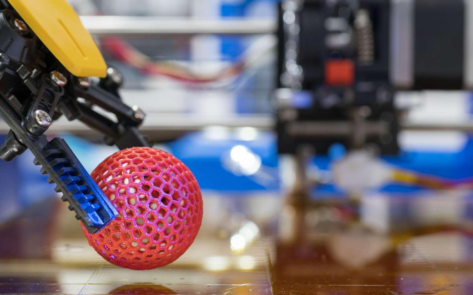 Les makers s'appuient notamment sur l'impression 3D et la fabrication additive. © science photo, Adobe Stock