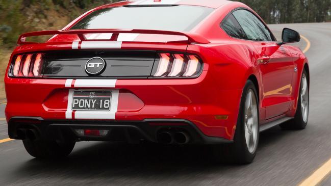 Poder impactante para el Mustang más rápido de Ford