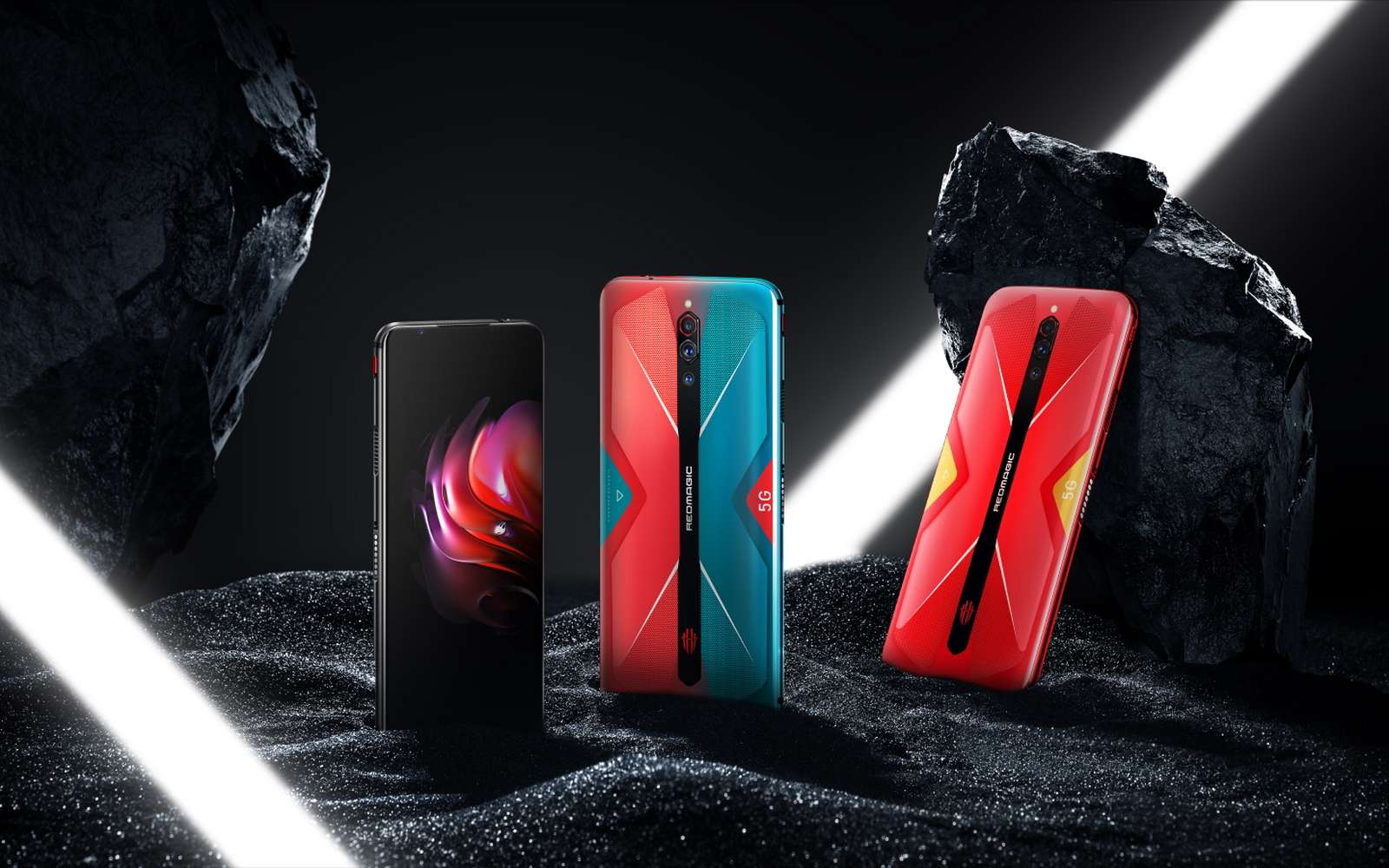 Le Nubia RedMagic 5G est armé pour se faire une place dans le marché de niche que constituent les mobiles pour gamers. © Nubia