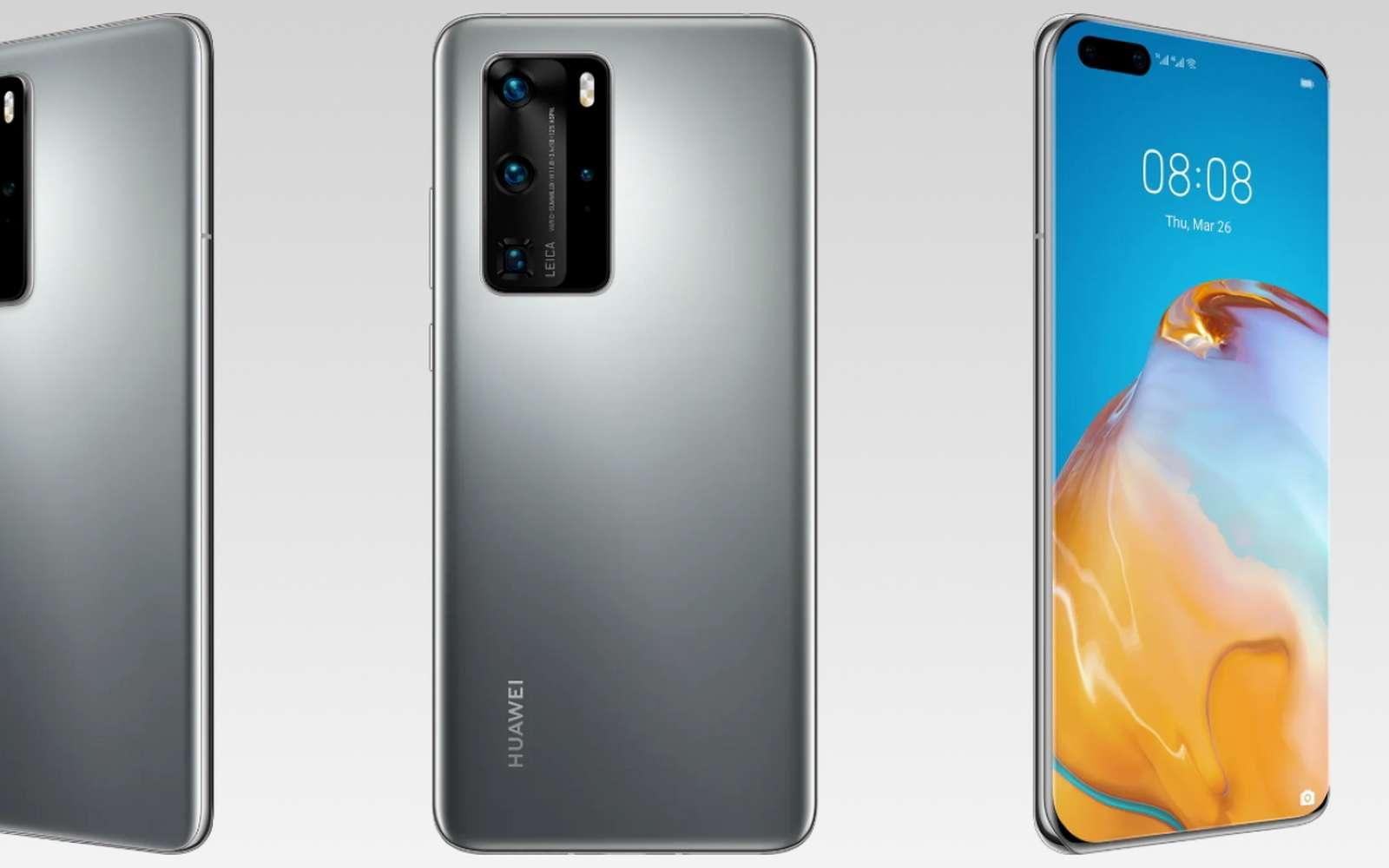 Le Huawei P40 Pro est la version la plus haut de gamme de la marque en attendant l'arrivée de la version Plus. Il ne lui manque rien, sauf…. Google. © Huawei
