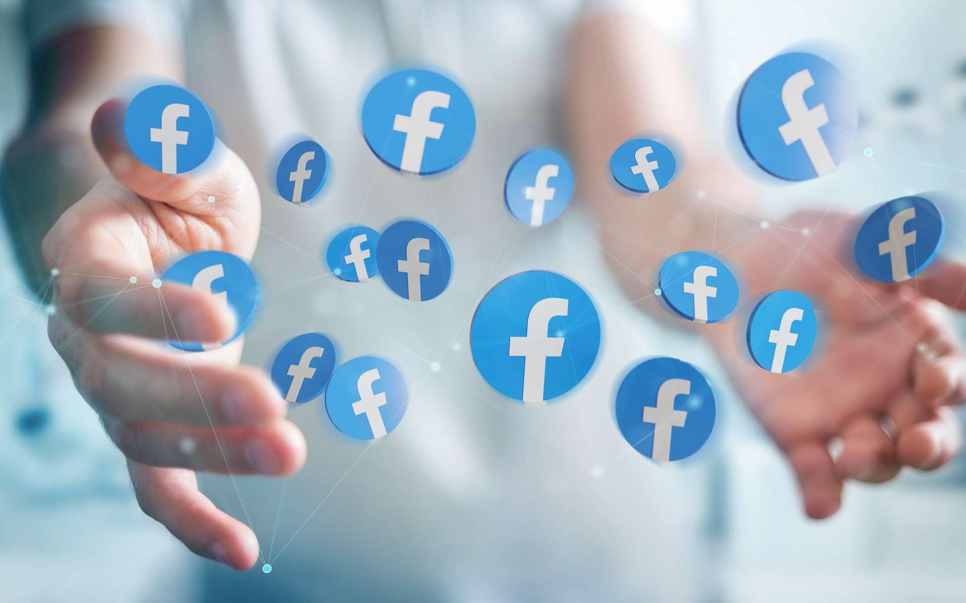 Facebook partage des données sur ses utilisateurs pour aider à gérer l'épidémie. © Sdecoret, Adobe Stock