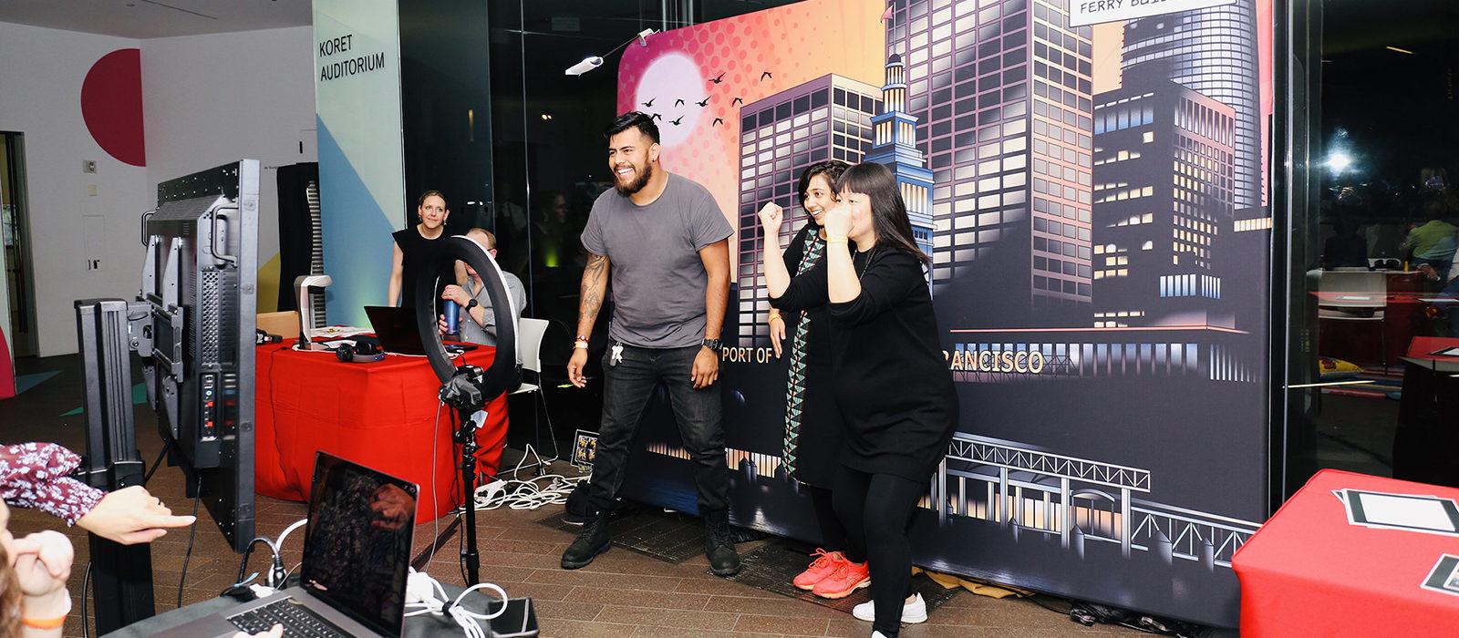 Los superhéroes de Adobe hacen magia en la fiesta de arte de Youngsters