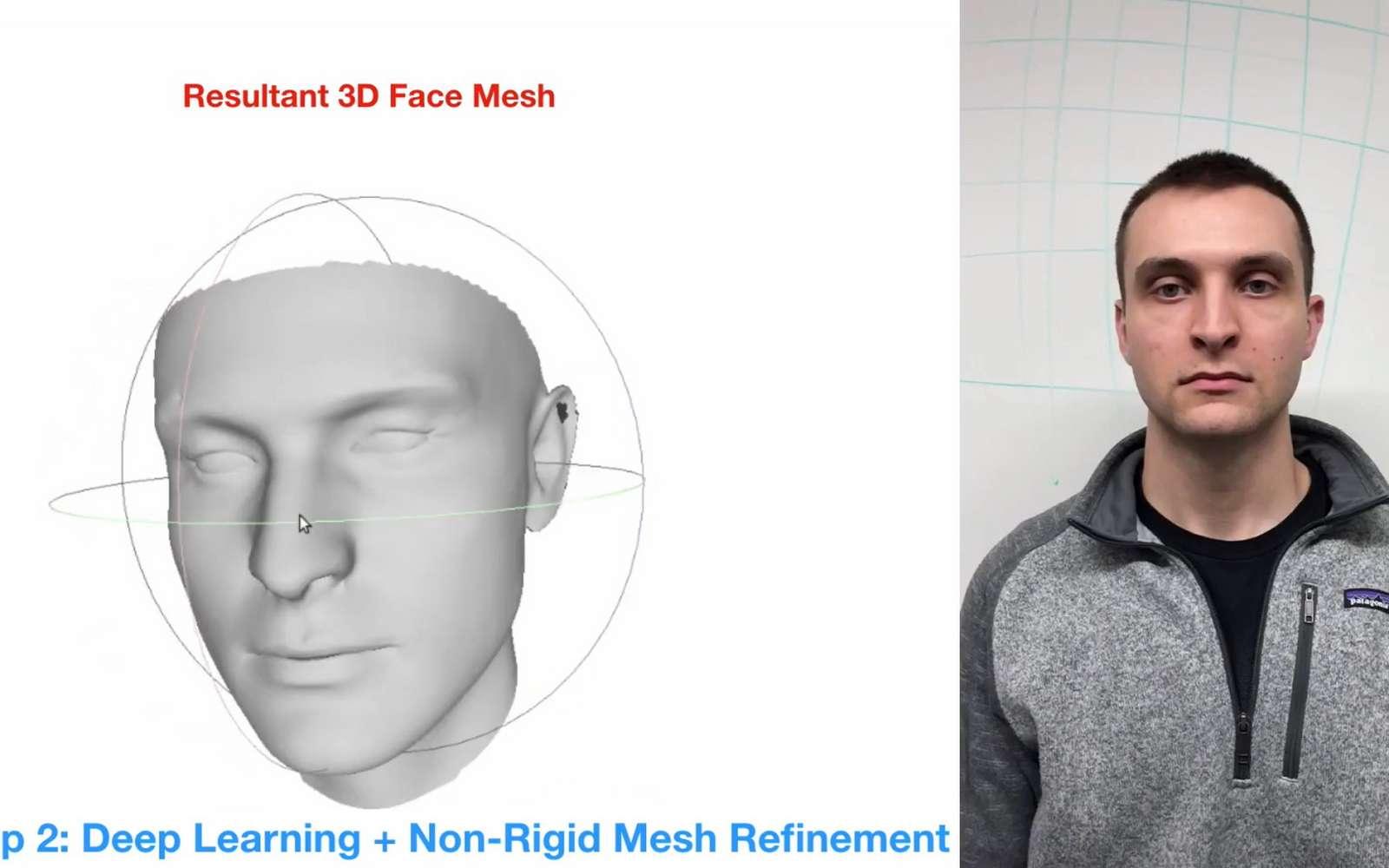 Un simple smartphone permet de créer une représentation 3D très précise. © Carnegie Mellon University