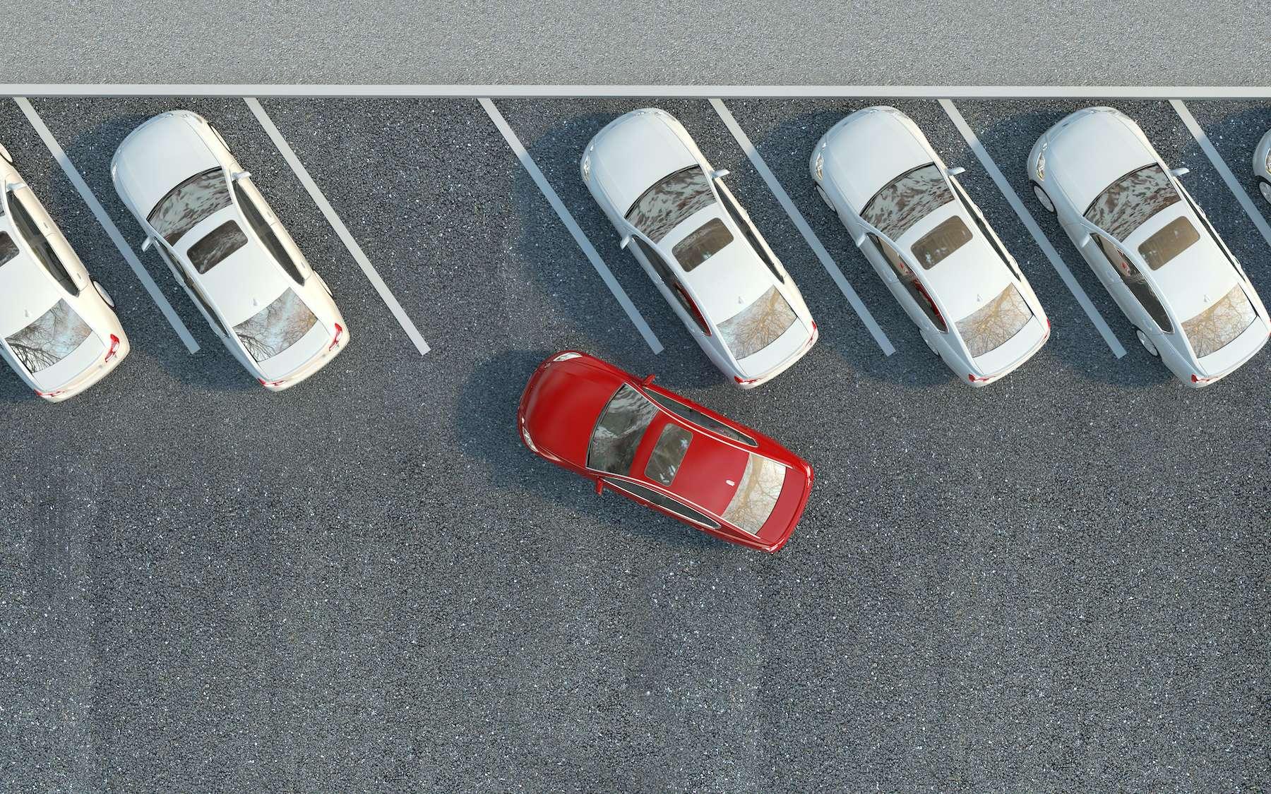 Vous trouvez les créneaux compliqués ? Il suffit pourtant de 12 neurones pour garer une voiture. © Nikita Kuzmenkov, Adobe Stock
