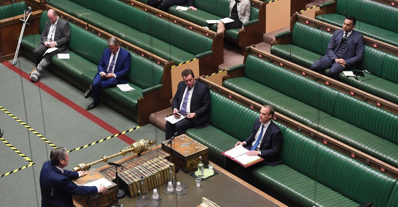 Dentro del problemático y problemático nacimiento de la aplicación de votación en línea del parlamento