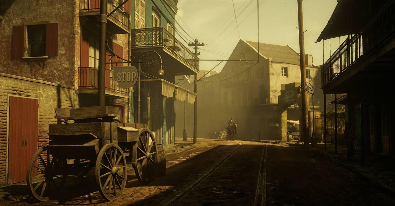 Los fotógrafos autoaislados están haciendo el arte de Red Dead Redemption 2