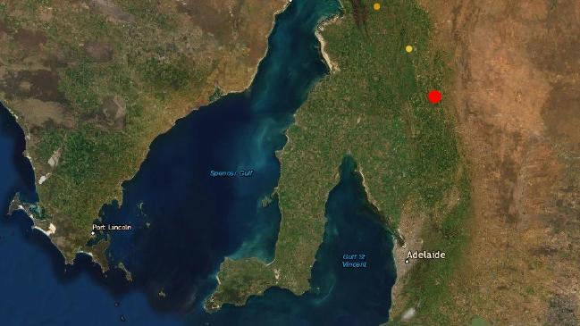 El terremoto de Australia del Sur en la región de Burra se sintió en todo el estado