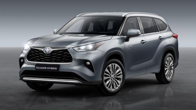 Toyota Kluger Hybrid confirmado para Australia, previsto para 2021