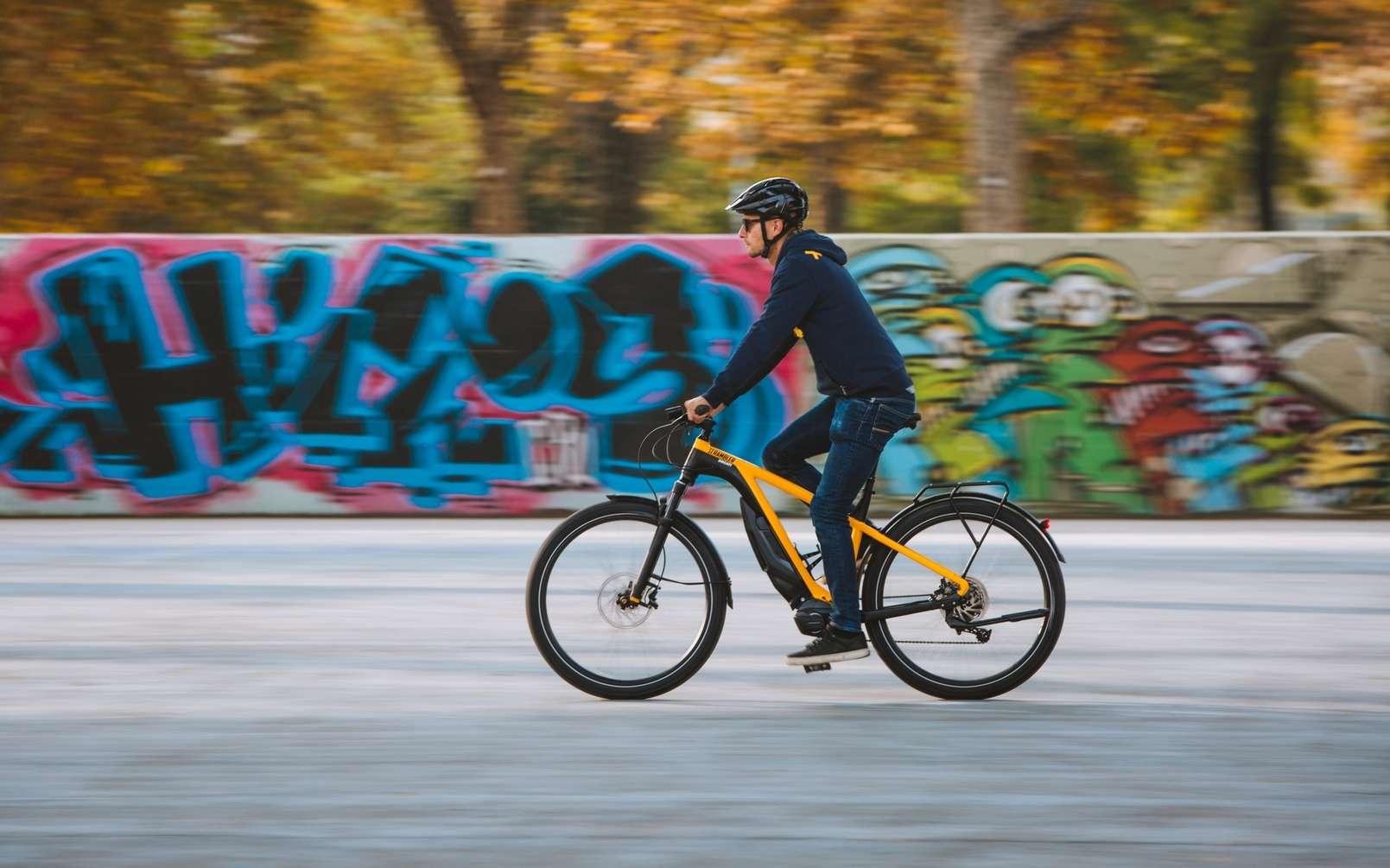 Le Ducati e-Scrambler. © Ducati