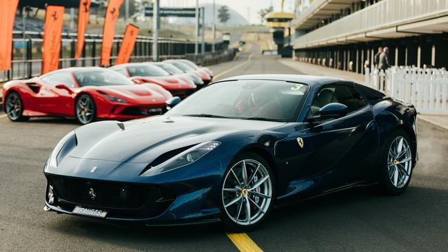 El 812 GTS de Ferrari es el convertible más potente hasta la fecha.