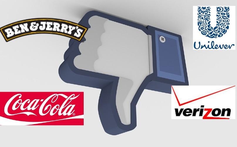 El boicot publicitario de Coca-Cola, Pepsi, Unilever y Facebook está ganando impulso