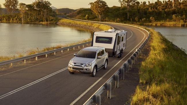 ¿Cuál es el mejor auto para remolcar una caravana?