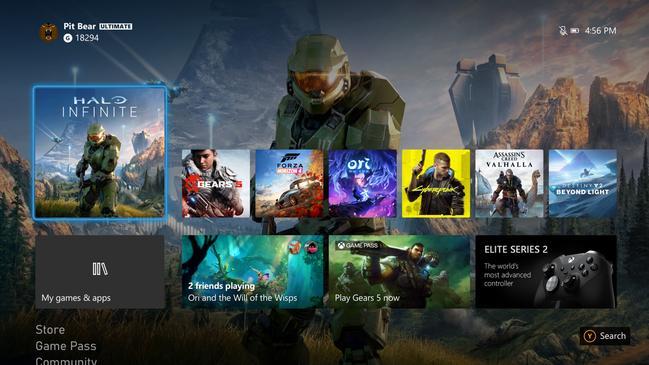 La actualización de Microsoft de agosto de 2020 pone la interfaz de usuario de próxima generación en Xbox One