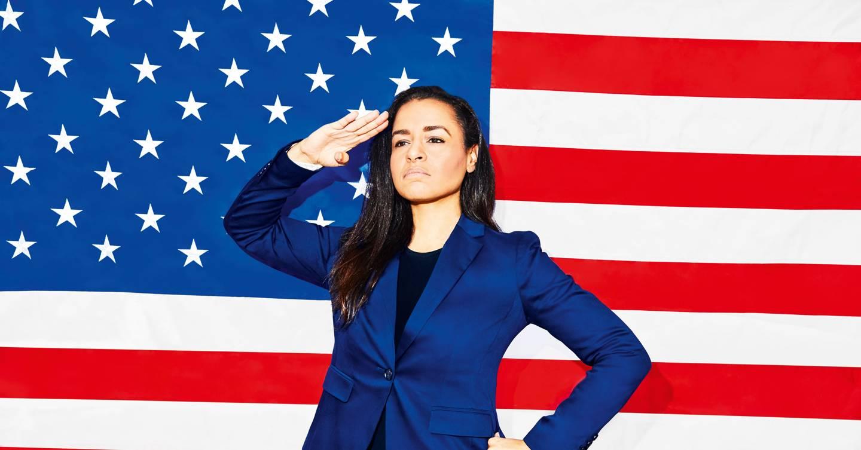 Sarah Cooper tiene una misión: convertir a la presidenta de los Estados Unidos ' propias palabras en un arma de histeria colectiva