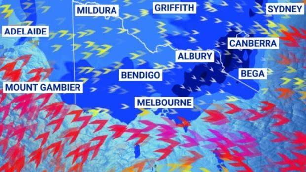 Fría ráfaga de lluvia, tormentas eléctricas y nieve golpeará a Victoria