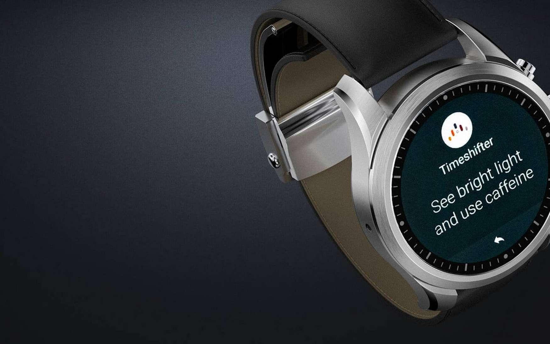 Pour l'instant, Wear OS n'est pas intégré sur des produits mais Google, mais on le trouve sur une multitude de montres connectées de marques connues. © Montblanc