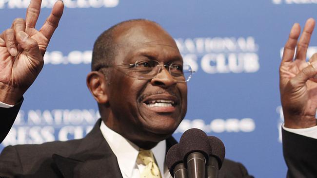 Herman Cain 'tuitea' sobre Kamala Harris dos semanas después de su muerte por COVID-19