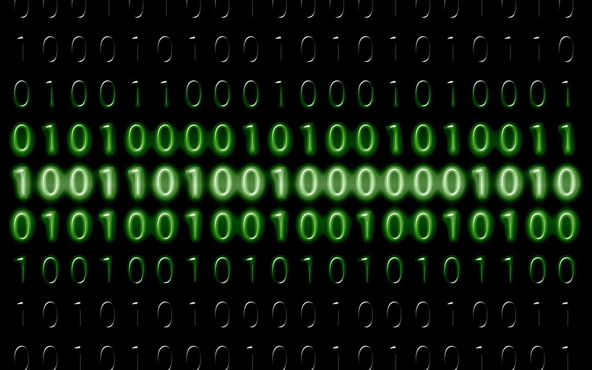 Des chercheurs ont trouvé un concept pour coder des informations dans des molécules artificielles. © Gerd Altmann, Pixabay