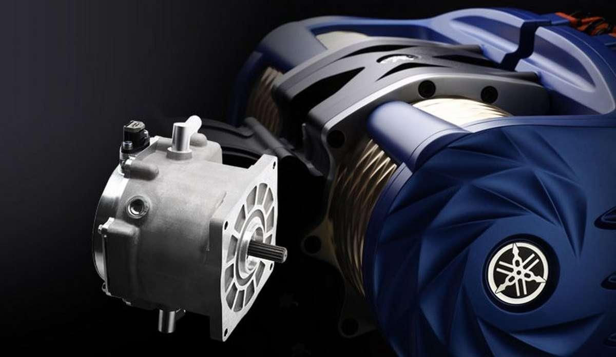 Les nouveaux moteurs électriques Yamaha pour deux-roues et voitures. © Yamaha