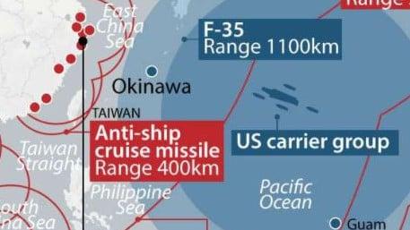 China dispara misiles balísticos como advertencia a EE. UU.