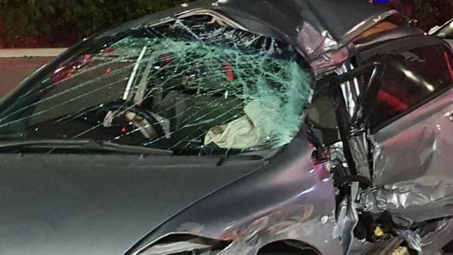 La policía se quedó sin palabras por un conductor ebrio