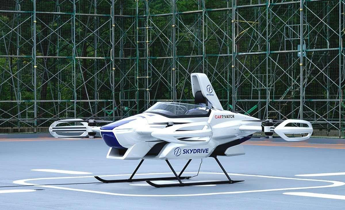 La « voiture volante » SkyDrive SD3 © SkyDrive