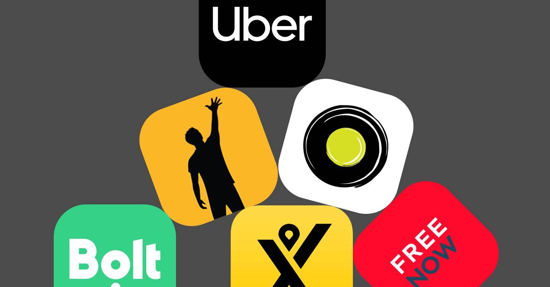 Los rivales de Uber en Londres circulan mientras la compañía enfrenta el día del juicio