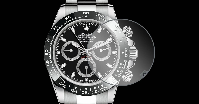 Un avance tecnológico en vidrio podría convertir un Rolex en un reloj inteligente