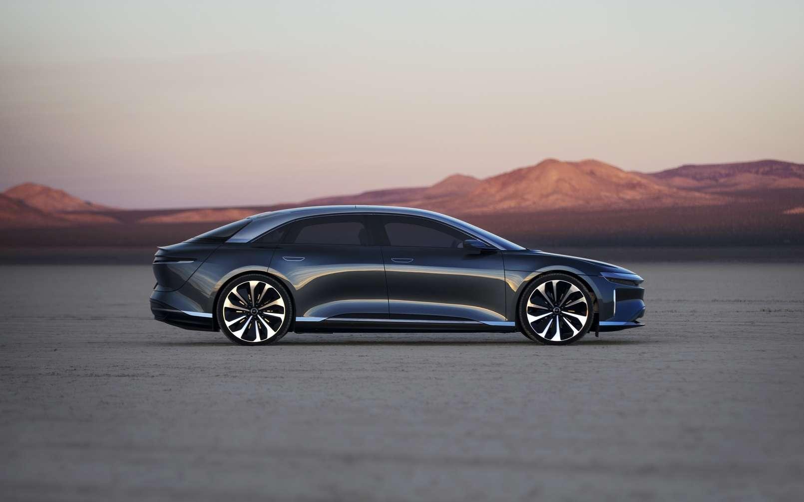 Lucid Air, el sedán eléctrico que se enfrenta a Tesla con más de 830 km de autonomía
