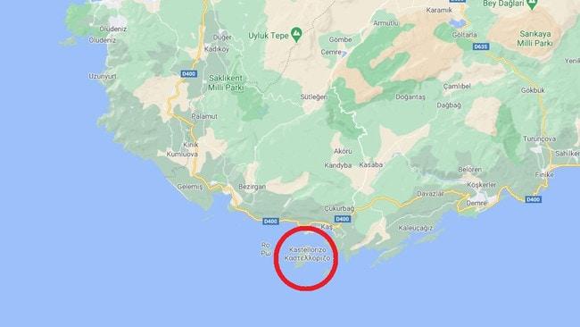 Pequeña isla en el centro de la disputa entre Grecia y Turquía