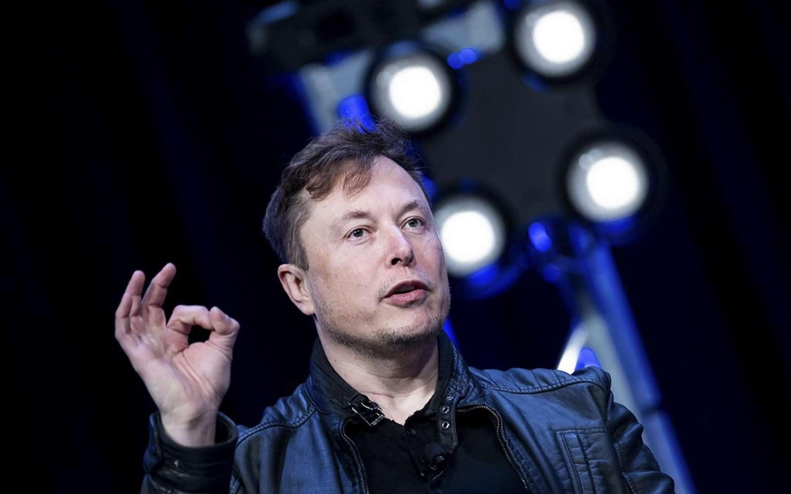 Neuralink, la start-up d'Elon Musk, a implanté une puce connectée dans le cerveau d'un cochon cobaye. C'est un prototype destiné à développer la version pour les humains qui redonnera la parole et la mobilité aux personnes paralysées. Le milliardaire est convaincu de pouvoir redonner l'usage complet de son corps. © Brendan Smialowski, AFP