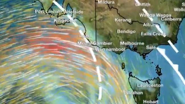 Advertencia de vientos dañinos emitida para ráfagas de 100 km / h