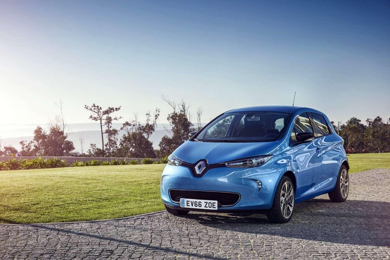 La Renault ZOE caracole toujours en tête des ventes de voitures électriques. © Renault