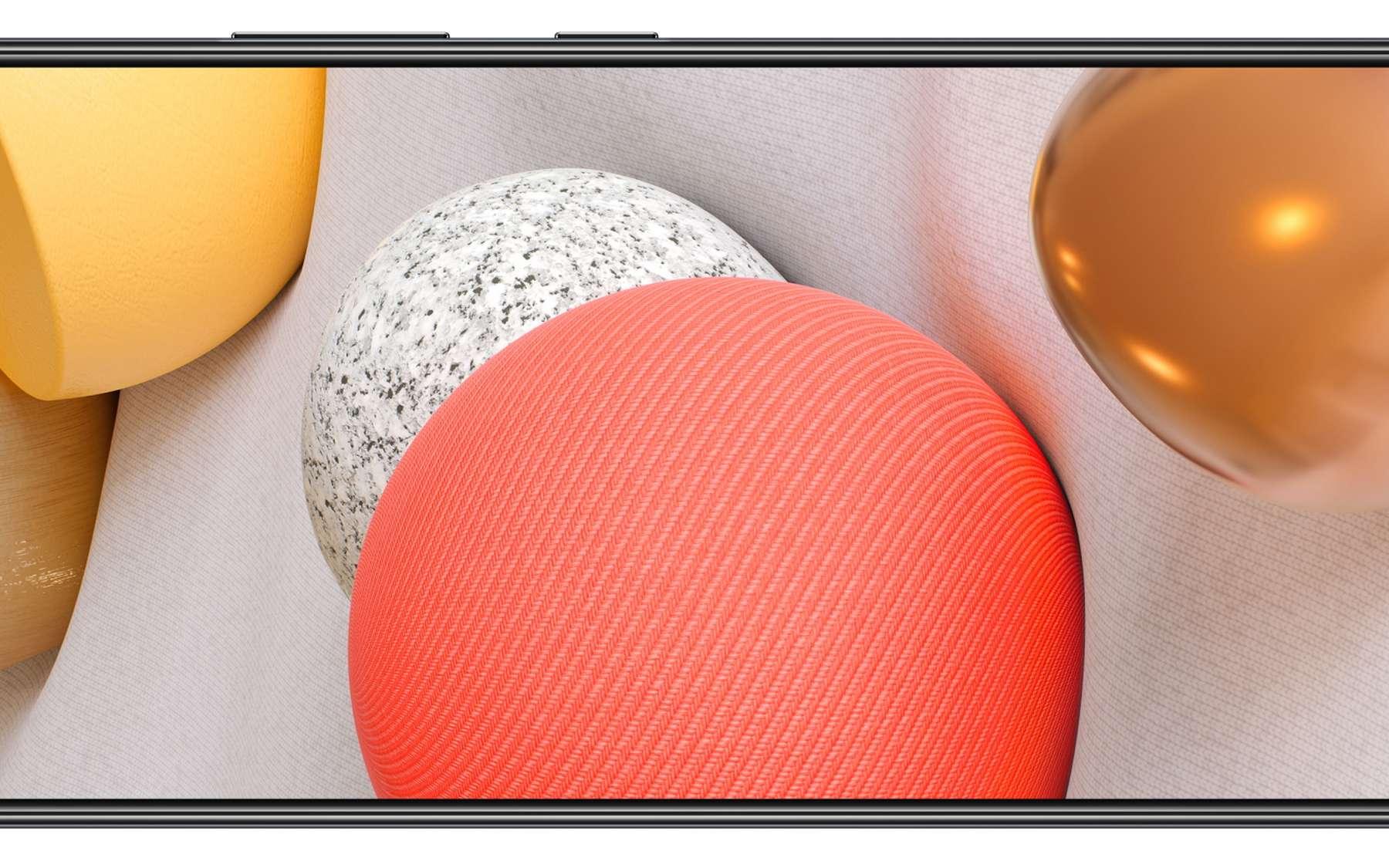Le nouveau Samsung Galaxy A42 5G sera le mobile 5G le plus abordable de la firme. © Samsung