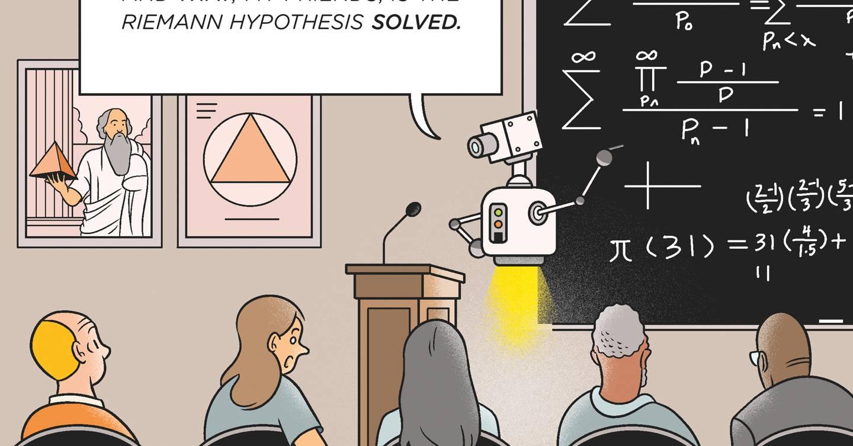 Nerds matemáticos, prepárense: una IA está a punto de escribir sus propias pruebas