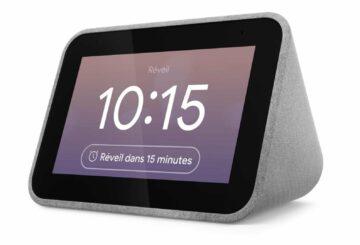 Despertador inteligente: el Lenovo Smart Clock solo cuesta 39,99 euros