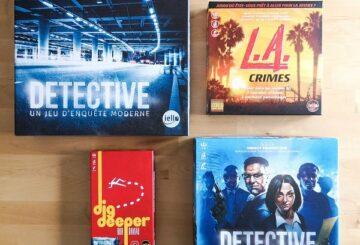 [Jeux de société] Detective: ¿que versión ofrecer para Navidad?