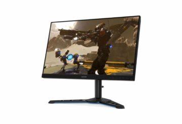 La pantalla gaming Lenovo Legion Y25, 240 Hz, baja a 279 euros
