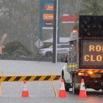 Donde se emitieron advertencias de inundación en Nueva Gales del Sur el sábado