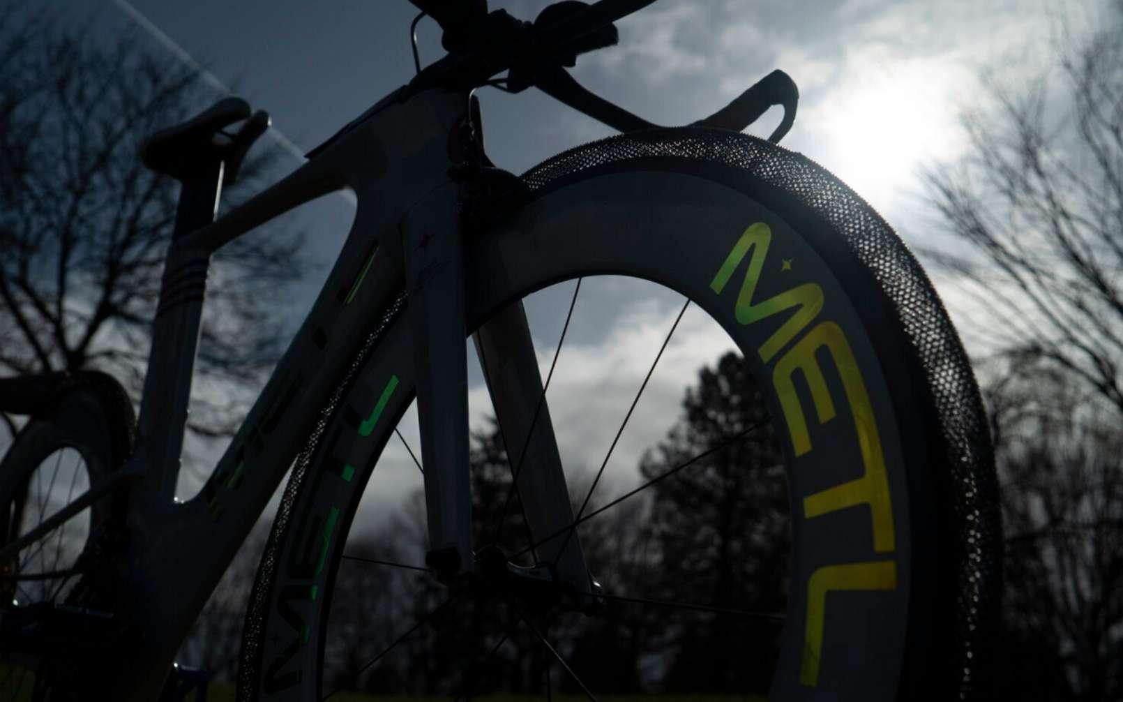 Le pneu Metl est directement dérivé des travaux de la Nasa. © The SMART Tire Company