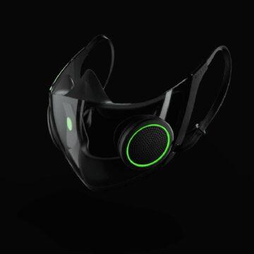 Razer lance la production de son masque anti-Covid intelligent. © Razer