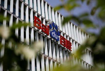 Baidu de China hace un débil debut comercial en Hong Kong