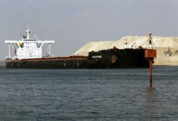 Comienza la investigación sobre cómo el barco se atascó en el Canal de Suez