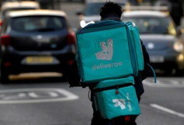 Deliveroo se hunde un 30% mientras el debut de la década se vuelve tórrido